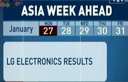 Trước Tết, thị trường châu Á công bố báo cáo kinh doanh