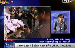 Bầu cử tại Thái Lan diễn ra trong căng thẳng