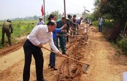 Kon Tum ra quân làm đường giao thông nông thôn