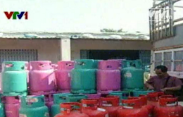 Tạm giữ hơn 1.300 bình gas 12 kg không rõ nguồn gốc