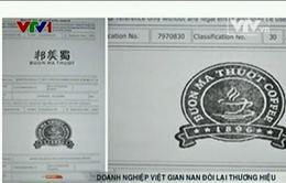 DN Việt tốn hàng trăm nghìn USD đòi lại thương hiệu bị mất tại nước ngoài