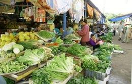 Hà Nội: Rét đậm kéo dài, giá thực phẩm tăng cao