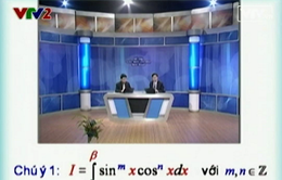 BTKT môn Toán: Tích phân lượng giác  (Phần 1)