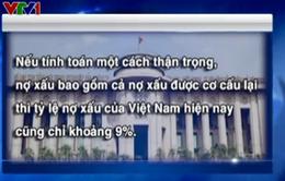 NHNN chính thức có ý kiến về tỷ lệ nợ xấu của hệ thống ngân hàng