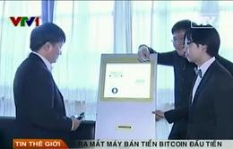 Ra mắt máy bán tiền Bitcoin đầu tiên tại Singapore