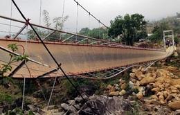 Xác định nguyên nhân ban đầu về sự cố cầu treo ở Lai Châu