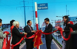 Đường nội đô đẹp nhất TP.HCM mang tên Phạm Văn Đồng