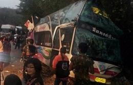 Tai nạn xe buýt làm 13 học sinh thiệt mạng ở Thái Lan
