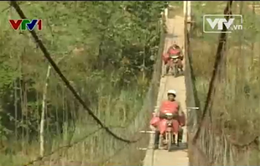 Kon Tum: Nhiều cầu treo xuống cấp nghiêm trọng
