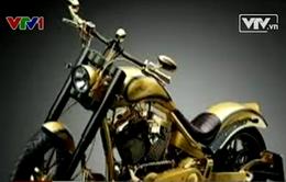 Trình làng mô tô mạ vàng, đính kim cương đắt nhất thế giới