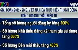 Việt Nam thực hiện thành công hơn 1.000 gói thầu điện tử