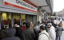 Tỷ lệ thất nghiệp tại Tây Ban Nha tiếp tục giảm