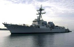 Tàu chiến Mỹ tới Biển Đen