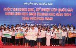 Khai mạc cuộc thi KHKT cấp Quốc Gia dành cho học sinh Trung học