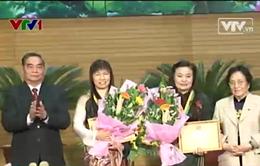 Trao giải thưởng Kovalevskaia năm 2013