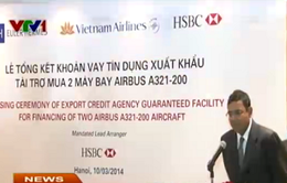 Vietnam Airlines có hai máy bay Airbus 321 mới