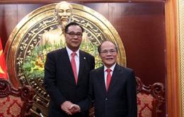 Chủ tịch Quốc hội tiếp Chủ tịch Hội đồng thành phố Yongin (Hàn Quốc)