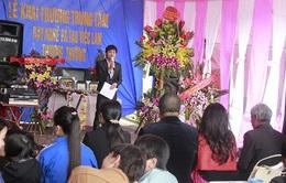 Khai trương Trung tâm Dạy nghề và tạo việc làm Thương Thương