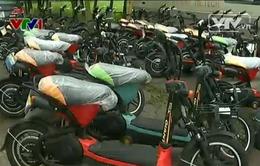 Thu giữ hơn 300 xe đạp điện có dấu hiệu làm giả ở Hưng Yên