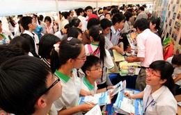 Nhiều trường ĐH tham gia định hướng nghề theo nhu cầu xã hội
