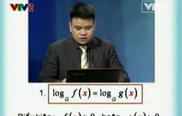 BTKT môn Toán: Phương trình logarit - Phần 1