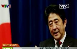 Nhật Bản tăng thuế tiêu dùng