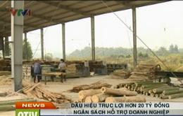 Kiểm tra việc thu hồi tiền hỗ trợ DN sai quy định tại Điện Biên