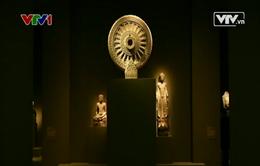 Lần đầu tiên trạm khắc cổ Myanmar được giới thiệu ở Mỹ