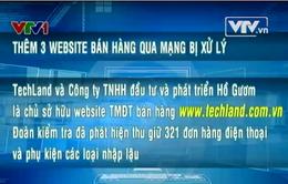 Thêm 3 website bán hàng qua mạng bị xử lý