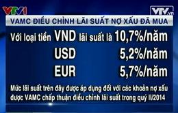 VAMC điều chỉnh lãi suất nợ xấu đã mua