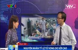 Nguyên nhân tử vong cao do sởi tại bệnh viện Nhi Trung ương