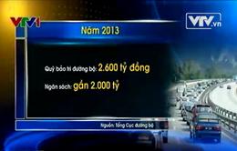 Bất cập trong thu phí bảo trì đường bộ đối với xe máy