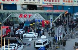 Tân Cương thắt chặt an ninh sau vụ nổ nhà ga