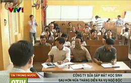 Vụ ngộ độc sữa ở Nam Định: Đại diện hãng sữa lánh mặt trong cuộc họp