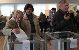 Tỷ lệ cao cử tri tại khu vực Đông Ukraine tham gia trưng cầu dân ý