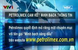 Petrolimex cam kết minh bạch thông tin