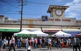Chợ Bến Thành thử nghiệm bán hàng trực tuyến