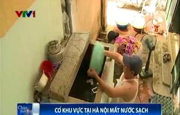 Cao điểm nắng nóng, nhiều quận Hà Nội mất nước kéo dài