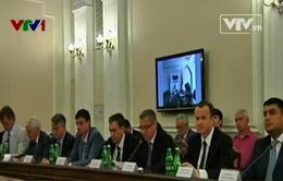 Tình hình miền Đông căng thẳng, nội các Ukraine họp phiên đầu tiên