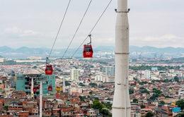 Bolovia khánh thành cáp treo cao nhất thế giới