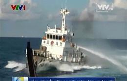 Cập nhật 1/6: Tàu Trung Quốc đâm mạnh, làm thủng tàu cảnh sát biển Việt Nam