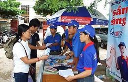 TP.HCM: Hơn 5.000 tình nguyện viên tham gia Tiếp sức mùa thi 2014