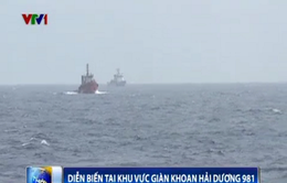 Cập nhật ngày 21/6: Trung Quốc tăng thêm hai tàu bảo vệ giàn khoan trái phép