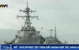 Mỹ và Philippines tập trận đẩy mạnh hợp tác hàng hải