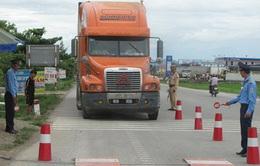 Kon Tum tiếp tục tăng cường kiểm tra xe chở quá tải trọng