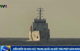 Cập nhật ngày 5/7: Tàu hộ tống Trung Quốc bao vây nhiều mũi, truy cản tàu Việt Nam