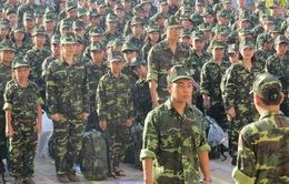 Cần Thơ: Xuất quân học kỳ quân đội 2014