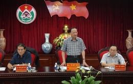 Đồng chí Tô Huy Rứa làm việc với lãnh đạo tỉnh Đăk Nông