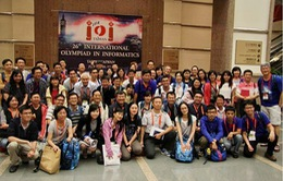 Đoàn Việt Nam đạt giải cao tại Olympic Tin học quốc tế