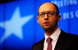 Thủ tướng Ukraine bất ngờ đệ đơn từ chức